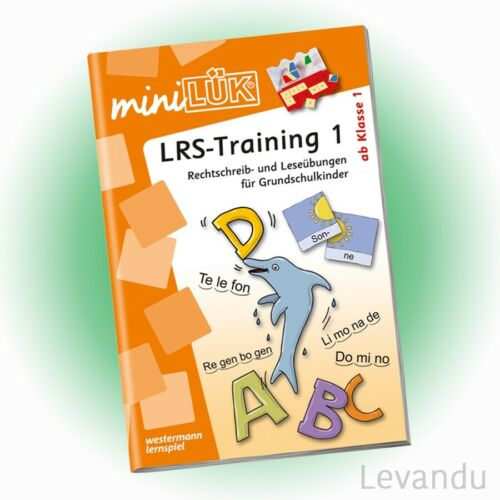- NEU WESTERMANN mini LÜK Heft 157 LRS-Training 1