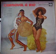 CARNAVAL A RIO TROPICANA ORCHESTRA/JORGE VEIGA SEXY RETRO COVER FRENCH LP DECCA