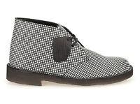 Clarks Originals X Desert Pattern Black / White Leather Uk 11 / 10.5