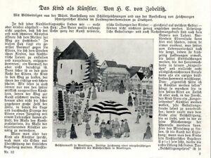Landesgewerbemuseum-Stuttgart-Ausstellung-Zeichnungen-Schweizer-Kinder-von-1926