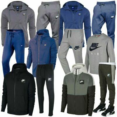 Nike Air Mens Capuche Survêtement Haut Bas Polaire Jogging Vendu Séparément | eBay