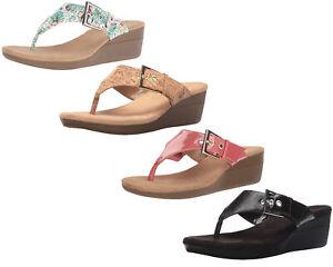 885cf7026205 Image is loading Aerosoles-Women-039-s-Flower-Wedge-Sandal-Color-