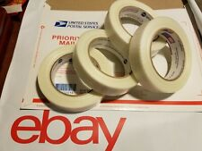 4 Rolls 1 X 60 Yds Fiberglass Reinforced Filament Strapping Packing Tape Clear