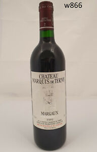 Wein-Rotwein-Red-Wine-1989-Chateau-Marquis-de-Terme-Grand-Cru-Margaux-866-9