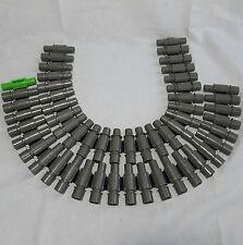 Lot of 2 - Nerf Vulcan EBF Machine Gun 25 Round Ammo Belt Dart Chain Clip