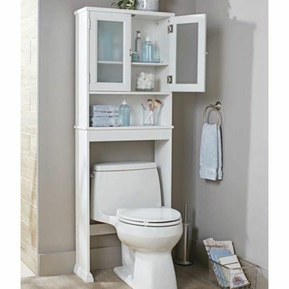stunning bathroom shelves over toilet storage | Above Toilet Storage Cabinet Etagere Over Toilets ...