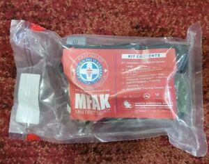 Advanced- Mini First Aid Kit (MFAK) Tactical Trauma Survival Bag - Stocked