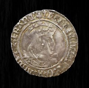 1526-44 GROAT Henry VIII Silver Laker Bust D VF (DGR5015)