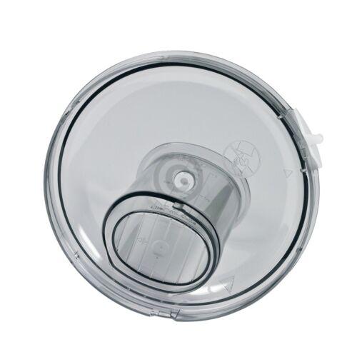 Deckel BOSCH 00657227 Gehäuseoberteil Einfüllstößel für Rührschüssel Durchlaufsc