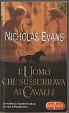 NICHOLAS EVANS - L'UOMO CHE SUSSURRAVA AI CAVALLI - SUPERPOCKET -SR74
