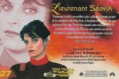 BASIC  CARDS 1 TO 32 CHOOSE WOMEN OF  STAR TREK IN MOTION BASE