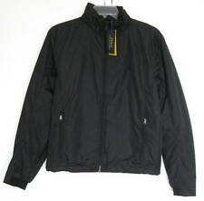 Polo Ralph Lauren Mens Black Performance Nylon Lined Windbreaker Jacket (L) NWT