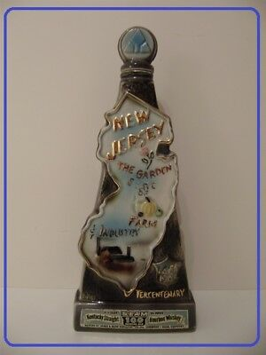 "Slim Regal China James Beam Bottle For The ""tercentenary 1664-1964"" Kentucky Bourbon"
