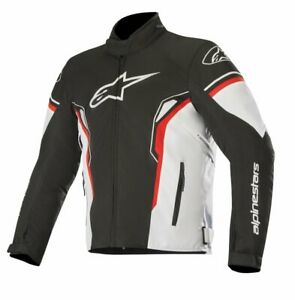 GIUBBOTTO-MOTO-ALPINESTARS-T-SP-1-JACKET-ANTIACQUA-WATERPROOF-BLACK-WHITE-RED