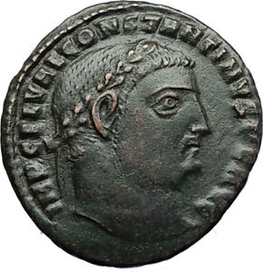 CONSTANTINE-I-the-GREAT-Authentic-Ancient-315AD-Roman-Coin-JUPITER-EAGLE-i71106