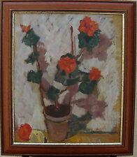 Nils Björklund *1912, Stillleben mit Topfpflanze, datiert 1940