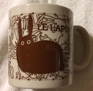Vintage Taylor /& NG Naughty Bunny Rabbits Orgy Coffee Mug Cup Ceramic