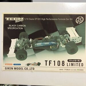 NIB-Rare-Limited-Edition-Tech-Racing-1-10-RC-F1-Chassis-Set-TF108-FREE-SHIPPING