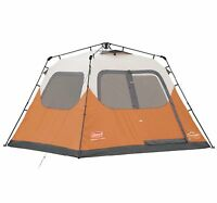 NEW! Coleman Outdoor Camping 6 Person Instant Tent w/ WeatherTec | 10' x 9'