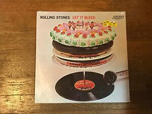 Rolling Stones SEALED LP - Let It Bleed - London NPS-4 - Stereo Orig?