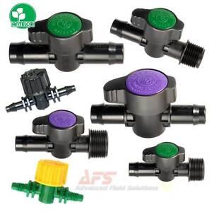 arrosage-arret-ISOLANT-valve-Levier-poignee-Barbed-amp-filete-UV-stabilise