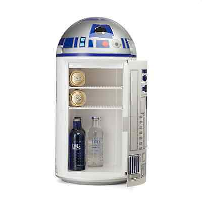R2-D2 Star Wars Mini Fridge R2D2 Collectible Refrigerator Cooler