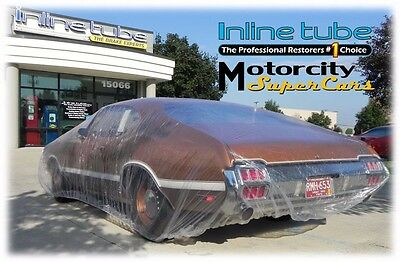 Disposable Plastic Car Cover with Elastic Band Dust Cover Rain Car Cover Inline