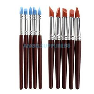 5pcs-Clay-Sculpture-Tool-Silicon-Color-Shaper-Brushes-for-Sculpture-Pottery-A