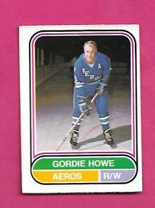 RARE-1975-76-OPC-WHA-100-AEROS-GORDIE-HOWE-GOOD-CARD-INV-D2158