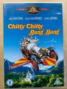 Chitty-Chitty-Bang-Bang-DVD-1968-Ian-Fleming-British-Children-Flying-Car-Classic