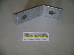 Details about 45 Degree Corner Angle Bracket Stainless Steel for Unistrut  Channel (25 / Box)