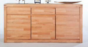 Kommode Kernbuche Geölt : sideboard kommode kernbuche buche massiv ge lt breite 175 ~ Watch28wear.com Haus und Dekorationen