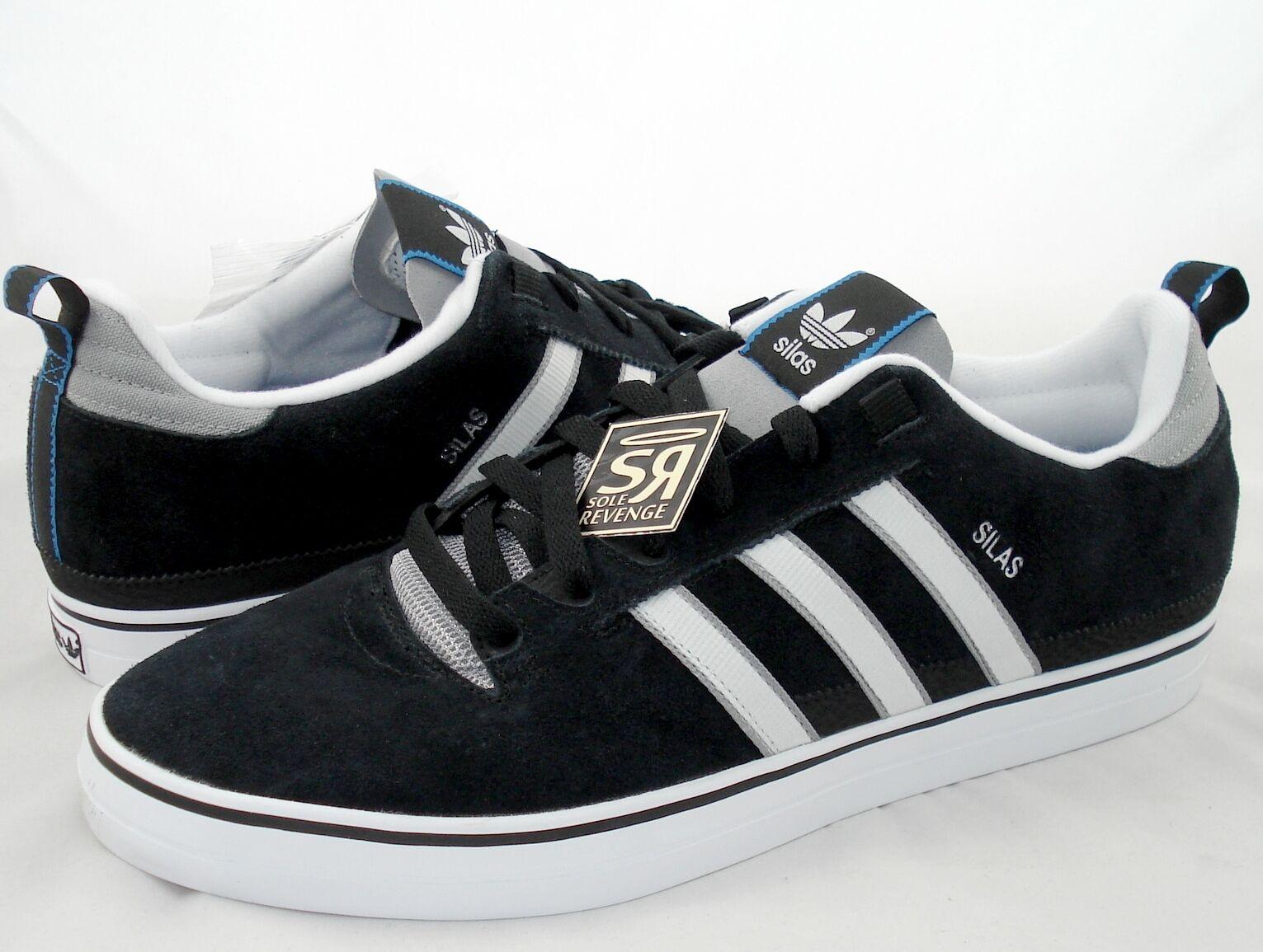 Neue 8,5 adidas originals mens silas baxter - neal skate - 2.0 - baxter schwarz - weiße 391f0a
