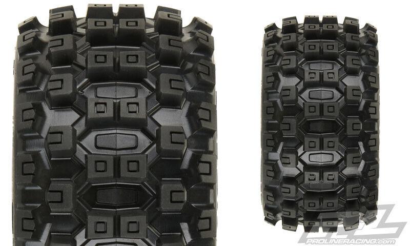 Pro-Line Pro-Line Pro-Line Badlands MX28 2.8  Pre-Mounted Tires w Raid 6x30 Wheels w Removable Hex 738d55