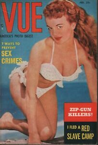 Vue-Digest-February-1953-Jo-Lathwood-Sunny-Knight-Cheesecake-Pin-Up-070819AME