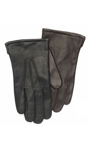 Men/'s /'Sparta/' Sheepskin Leather Gloves with Cashmere Lining By Grandoe