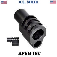"""Steel Muzzle Brake for 1911 Handgun Barrel Bushing for 5"""" Government Pistol"""