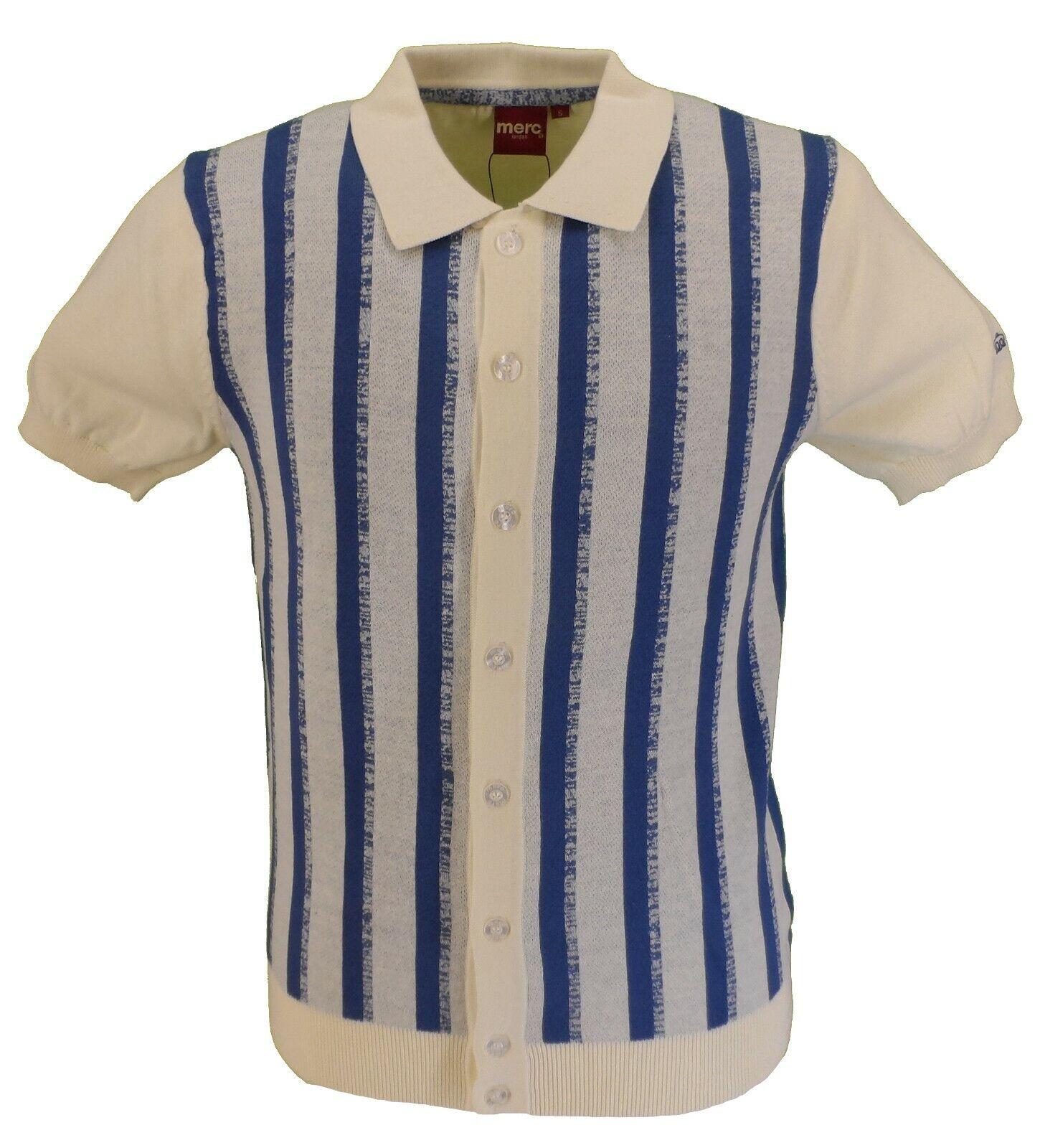 Merc Mens Wilmot Cream Polo Shirt