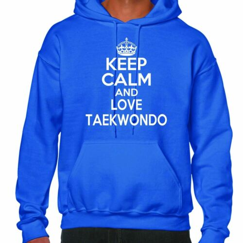Love Felpa Keep Taekwondo Cappuccio And Con Calm vOmN0nw8