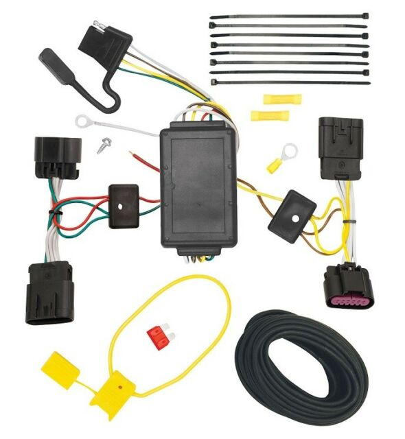 Trailer Wiring Harness Kit For 2009 Dodge Journey All