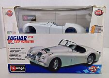 Burago Jaguar XK 120 Roadster 1948 Diecast Pre-Painted  Model 1:24