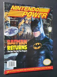 Details About 1993 Nintendo Power Volume 48 Magazine Batman Returns Zelda Link S Awakening