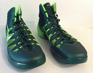 986f3d04d64b Nike Mens Hyperdunk 2013 TB Green Silver Basketball Shoes Sz 17.5 ...