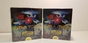 2-Boite-Lot-STAR-TREK-MASTER-SERIES-1-Collectible-Trading-Card-Box-Skybox