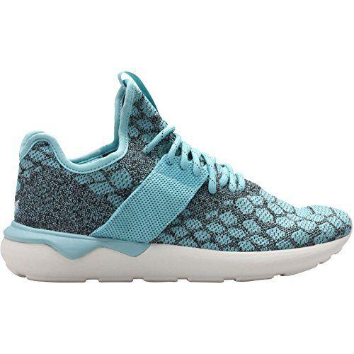 premium selection c3a03 1e569 Mens Sz 11.5 adidas Tubular Runner Primeknit Running Shoes B25572 Blue   eBay