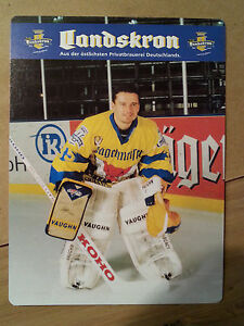 Lausitzer-Fuechse-1995-1996-35-Autogrammkarte-Peter-Franke