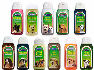 Johnsons-chien-shampooing-Gamme-125-ml-bouteilles