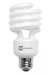 Ecosmart 100w equivalent soft white spiral indoor outdoor cfl light image is loading ecosmart 100w equivalent soft white spiral indoor outdoor aloadofball Gallery