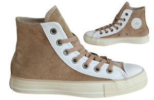 61105f98ba7f Converse Chuck Taylor CT All Star Distressed Hi Mens Trainers Brown ...