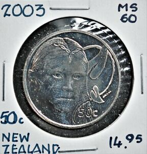 2003 New Zealand 50 cents 'Galadriel' Lord of the Rings